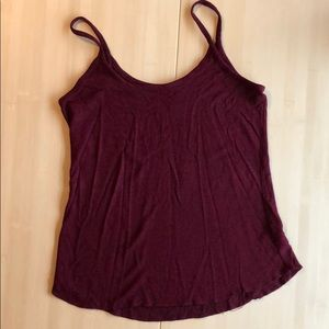 Old Navy cranberry loose tank top